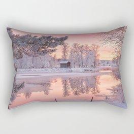 WINTER SCENE-3118/1 Rectangular Pillow