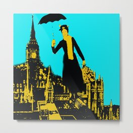 Mary in the City  Metal Print