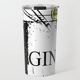 Gin Tonic Original Bartender Longdrink Gift Travel Mug
