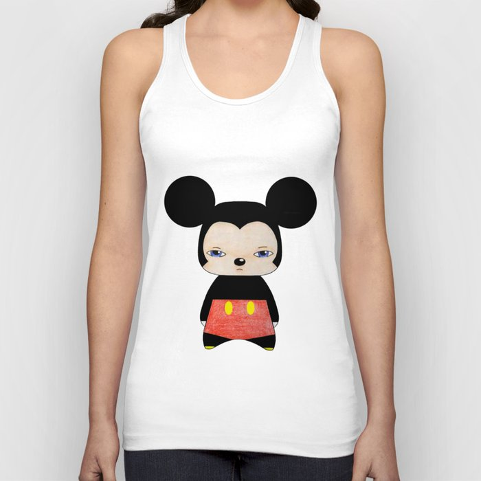 A Boy - Mickey Mouse Unisex Tank Top