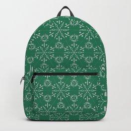 Hexagonal Circles - Emerald Backpack