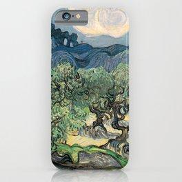 Vincent van Gogh, Olive Trees. iPhone Case