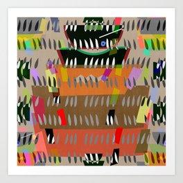 FESTIVE UDON BOWLS #2 Art Print