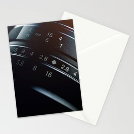 Photography Lens closeup Stationery Cards