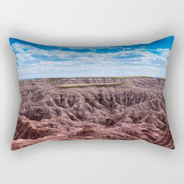 Bad Lands 4 Rectangular Pillow