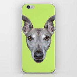 Whippet // Green (Vespa) iPhone Skin