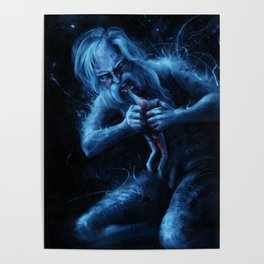 Saturn Devouring His Young (After Goya) Poster