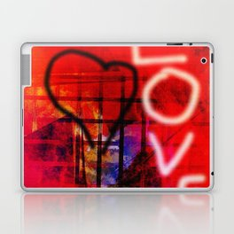 Love Graffiti Laptop & iPad Skin
