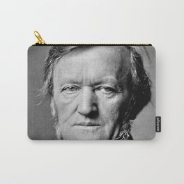 Franz Hanfstaengl - portrait of Wagner Carry-All Pouch