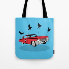 Four Wheel Fly Tote Bag