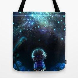 Starry (Night) Undertale Tote Bag