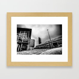 I Love Manchester Framed Art Print