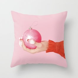 Santa Claws Throw Pillow