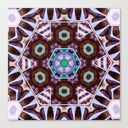 Kaleidoscope ZD Inverted Canvas Print