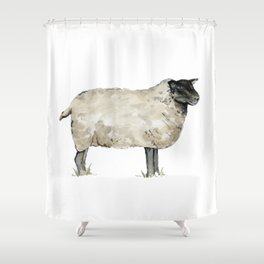 Shower Curtains By The Cranberry Finch