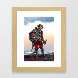 Knight of the Blackrocks Framed Art Print