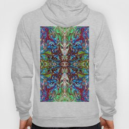 Colorful Abstract  Marbling ,Pattern Tradional Hoody