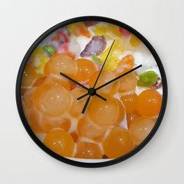 Fruiti Tuiti Rolled Ice Cream Wall Clock