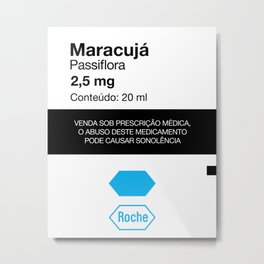 Kitchen Posters - Rivotril/Maracuja Metal Print