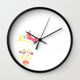 Notoriously P.A.S.T.E.L. Wall Clock