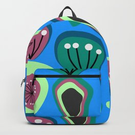 Flowers and seeds- abstract Backpack