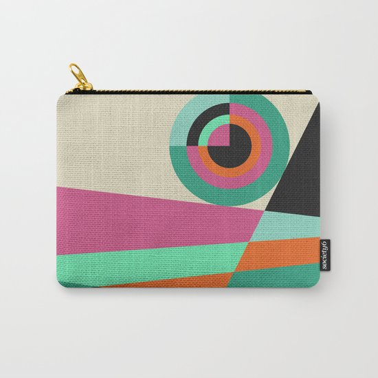 Geometric#30 Carry-All Pouch