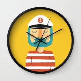 Ahoy Sailor Wall Clock
