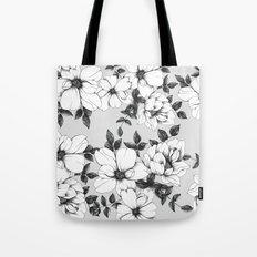 Grey Spring Tote Bag
