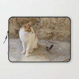 Summertime Cat  Laptop Sleeve