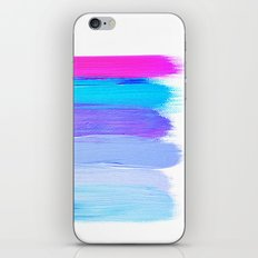 Ombre Brush Strokes iPhone & iPod Skin
