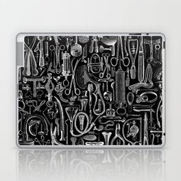 Medical Condition BLACK Laptop & iPad Skin