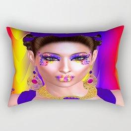 The Spirit of Frieda Rectangular Pillow