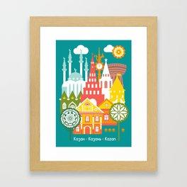 Kazan Framed Art Print