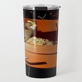 White-throated sparrow Travel Mug