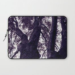 Ultra Violet Winter Trees Laptop Sleeve