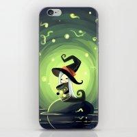 fireflies iPhone & iPod Skins featuring Fireflies by Freeminds