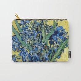 1890-Vincent van Gogh-Irises-73,5x92 Carry-All Pouch