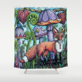 Fox Hollow Shower Curtain