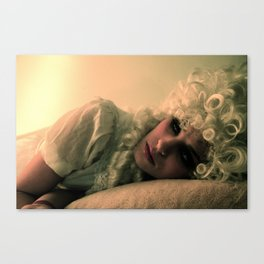 Off With Her Head (2) Canvas Print