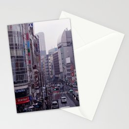 Shinjuku Skyline Stationery Cards