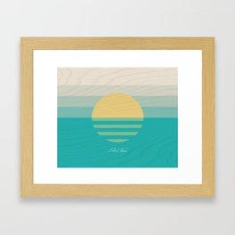 SUN RAYS (VS) Framed Art Print
