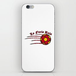 Spain La Furia Roja (The Red Fury) ~Group B~ iPhone Skin
