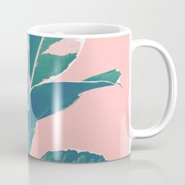 Ficus Elastica Finesse #3 #tropical #foliage #decor #art #society6 Coffee Mug