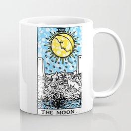 Floral Tarot Print - The Moon Coffee Mug