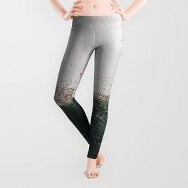 abstract smoke wall painting Leggings