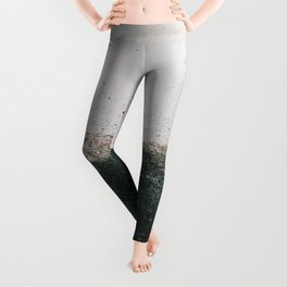 abstract smoke wall painting Leggings