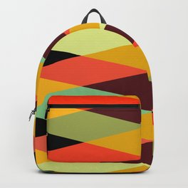 Geometric Pattern #28 (crisscross) Backpack
