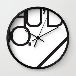Should do  Wall Clock