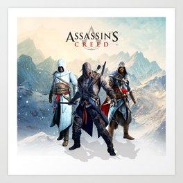 Assassin Art Print