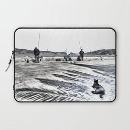 The Waiting Game Art Laptop Sleeve